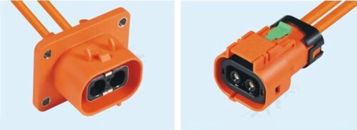 HVC 2POS 3.6mm Plastic Connector (50A series)示意圖